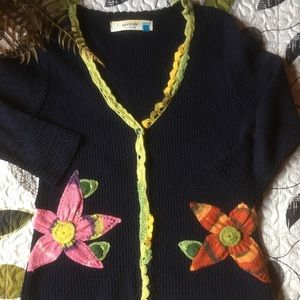 Sparrow from Anthropology cardigan L